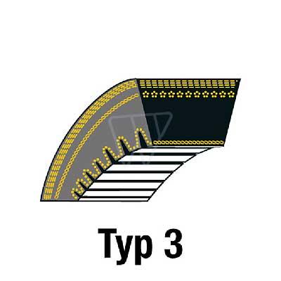Bulktex® Rasenmäher Doppelzahnriemen passend Agrostroj Dino APR 12,5//40 15//102