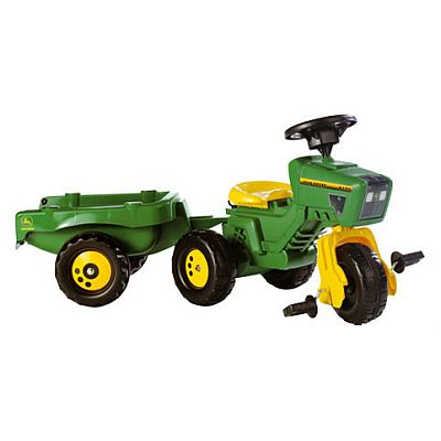JOHN DEERE Dreirad m.Soundl. von Tolly Toys, Model