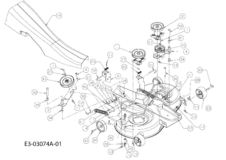 """Mähwerk N 2004 41/""""//105cm Keilriemen für Yard-Man AN 5150 K 13BI504N643"""