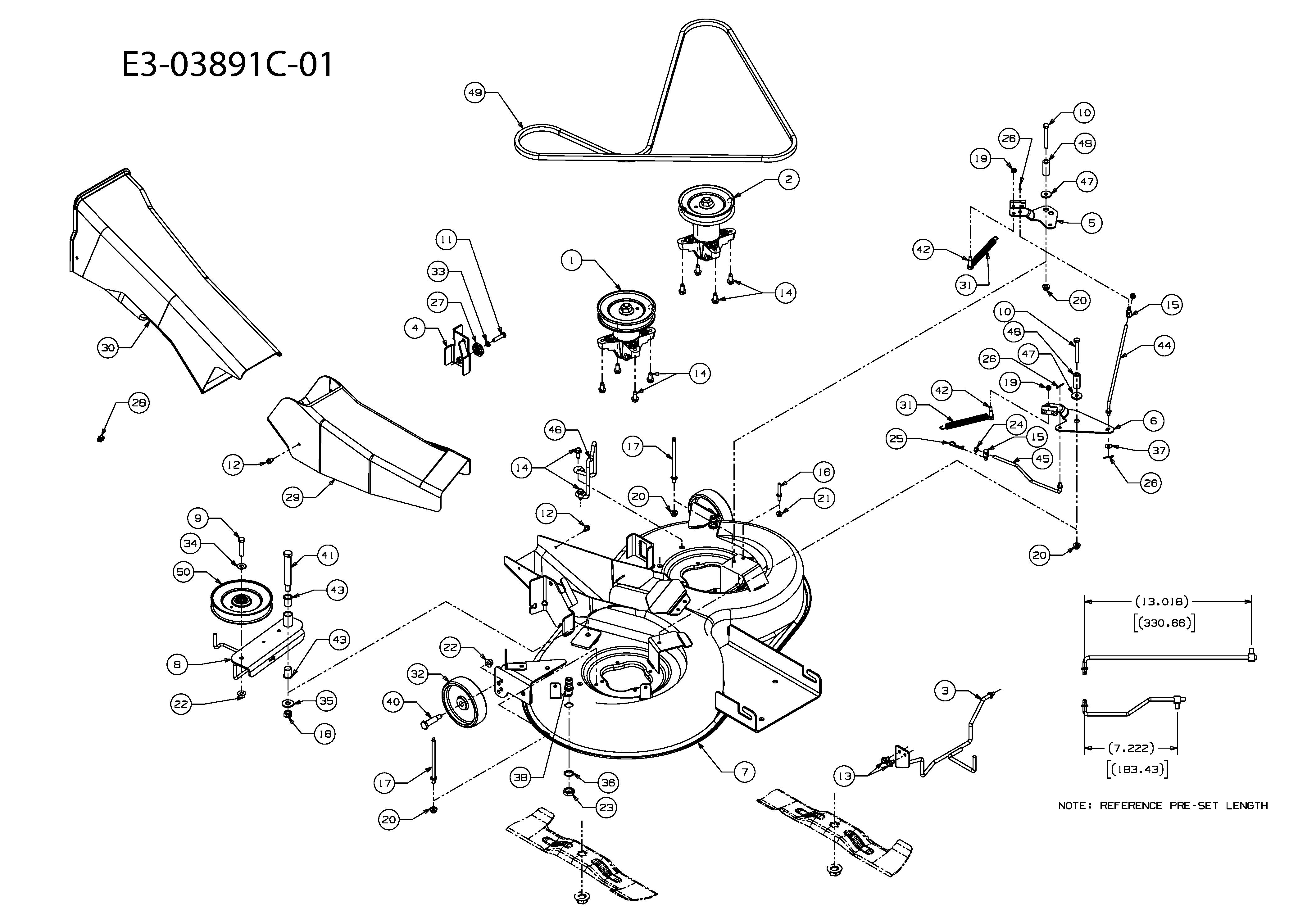 Mähwerk E (36